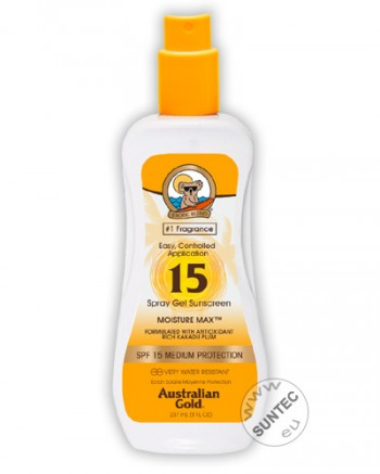 Australian Gold - SPF 15 Spray Gel (237 ml)