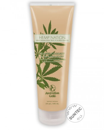 Australian Gold - Hemp Nation Toasted Coconut & Marshmallow Body Wash (235 ml)