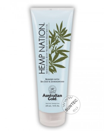 Australian Gold - Hemp Nation Sea Salt & Sandalwood Body Wash (235 ml)