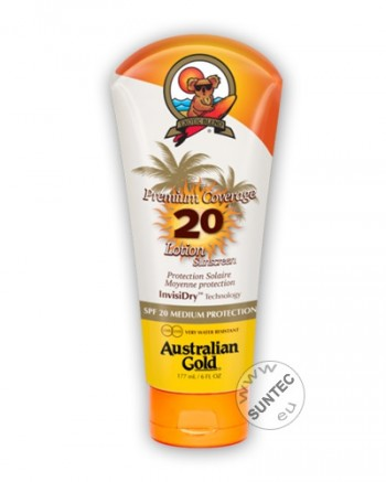 Australian Gold - SPF20 Premium Coverage Lotion (177 ml)
