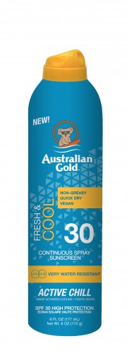 Australian Gold - SPF 30 Continuous Active Chill (177 ml)