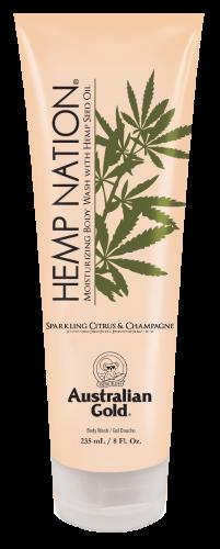 Australian Gold - Hemp Nation Sparkling Citrus & Champagne Body Wash Tube (235 ml)