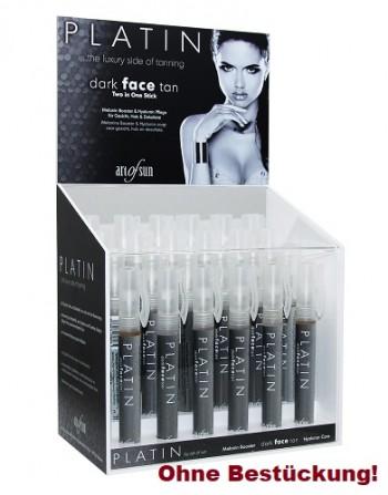 art of sun - Acryl-Display für den PLATIN dark face tan Stift 10 ml (ohne Bestückung)