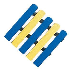 Bodenmatte (royal-blau/gelb)